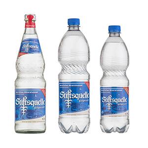 Stiftsquelle Natürliches Mineralwasser natriumarm - Gebinde