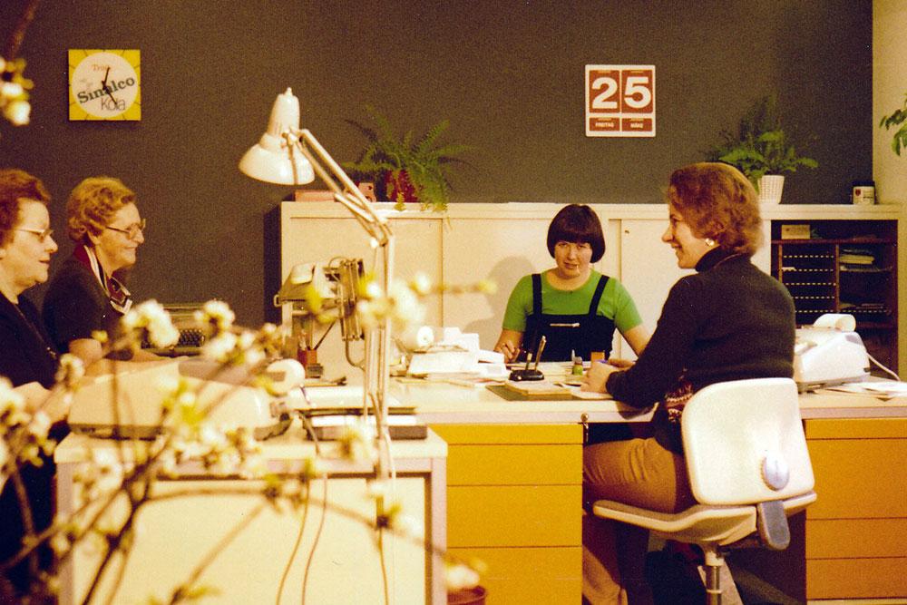 November-1978 Rechenmaschinen bei der Stiftsquelle