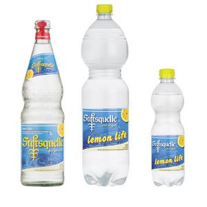 LEMON LIFE - Bestes natriumarmes Mineralwasser mit dem Spritzer Zitrone