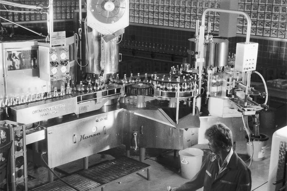 """""""Mineralwasser-Abfüllanlage 1977"""