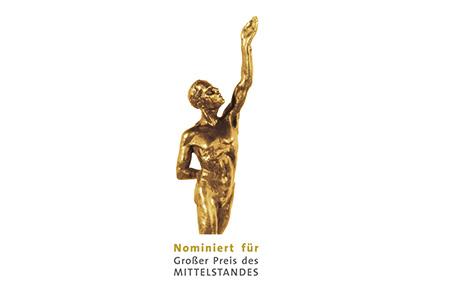Stiftsquelle nominiert für den großen Preis des Mittelstandes