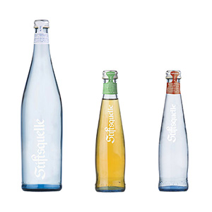 Stiftsquelle GASTRONOMIE - Bestes Mineralwasser im eleganten Look