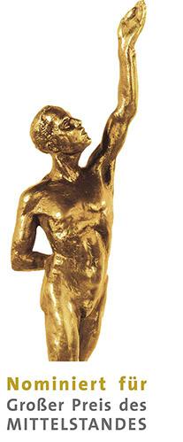 Die Stiftsquelle wurde nominiert für den Großen Preis des Mittelstandes