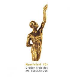 Nominierung für den Großen Preis des Mittelstandes